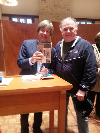 Harry Hall with Dave Barry