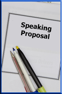 Click to Request a Speaking Proposal